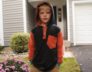 Hipster Henley sewing pattern for boys by Blank Slate Patterns sewn by Boy, Oh Boy, Oh Boy