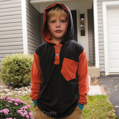Hipster Henley with Boy Oh Boy Oh Boy – Blank Slate Sewing Team