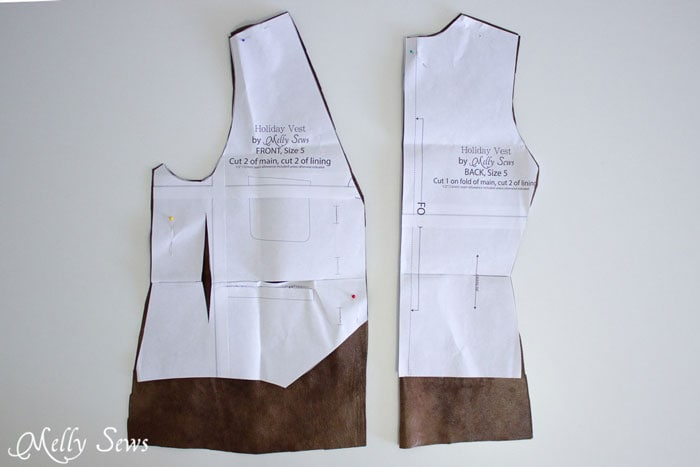Vest modifications - Make a prince costume with a free pattern - this could also be a pirate or even Inigo Montoya costume - Melly Sews