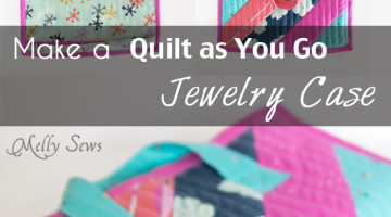 Sew a Quilted Jewelry Case