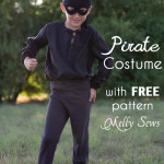 Pirate Costume with FREE Pattern