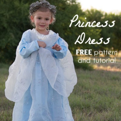 Princess Costume with Free Pattern and Tutorial
