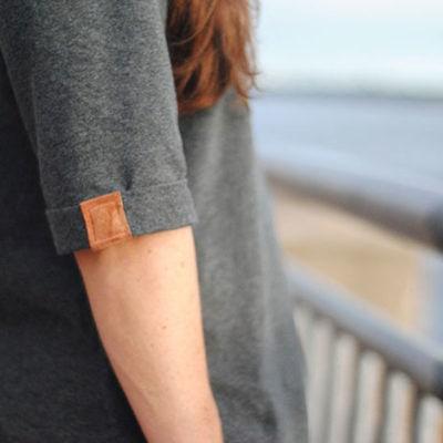 Shoreline Boatneck with Dandelion Drift – Blank Slate Sewing Team