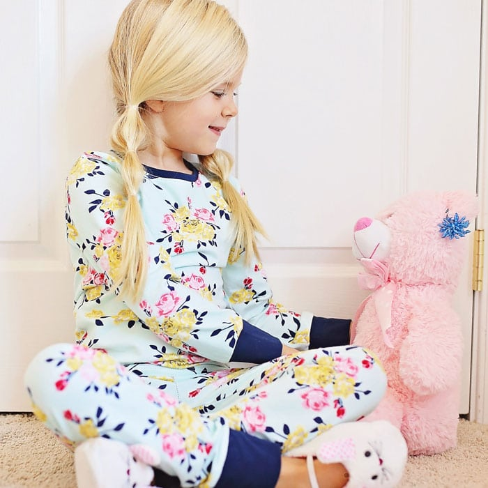 Pajamas by Mouse House Creations in Idle Wild Multi Floral