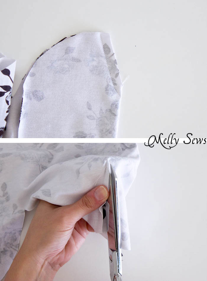 Step 2- Sew a Beanie Hat - Make a slouchy hat in any size with this EASY tutorial - Melly Sews