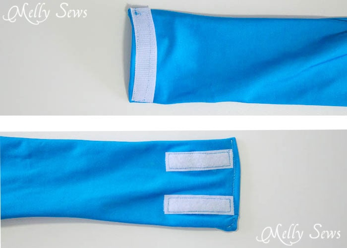 Step 7 - How to Sew a Running Belt with access for your touchscreen - running belt for smartphone - iPhone running belt - Melly Sews