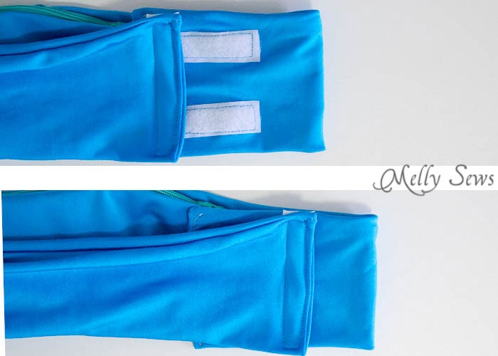 Step 8 - How to Sew a Running Belt with access for your touchscreen - running belt for smartphone - iPhone running belt - Melly Sews