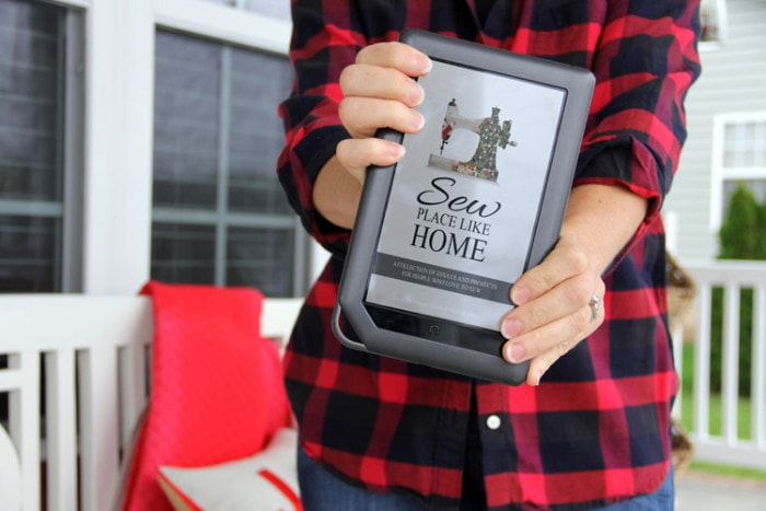 Sew Place Like Home - a holiday compilation from your favorite sewing bloggers - Melly Sews