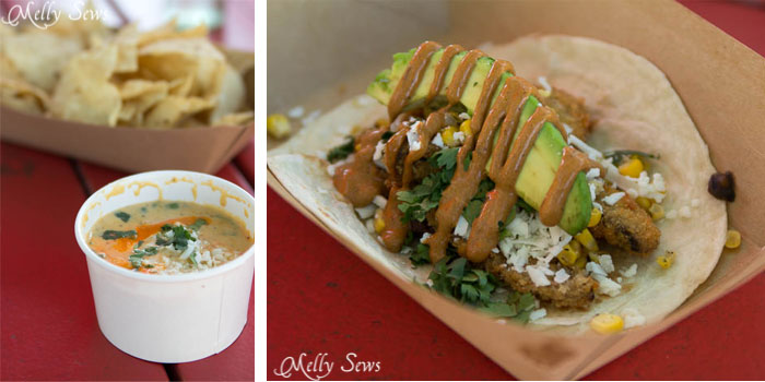 Torchy's Tacos - Austin Notebook - Melly Sews