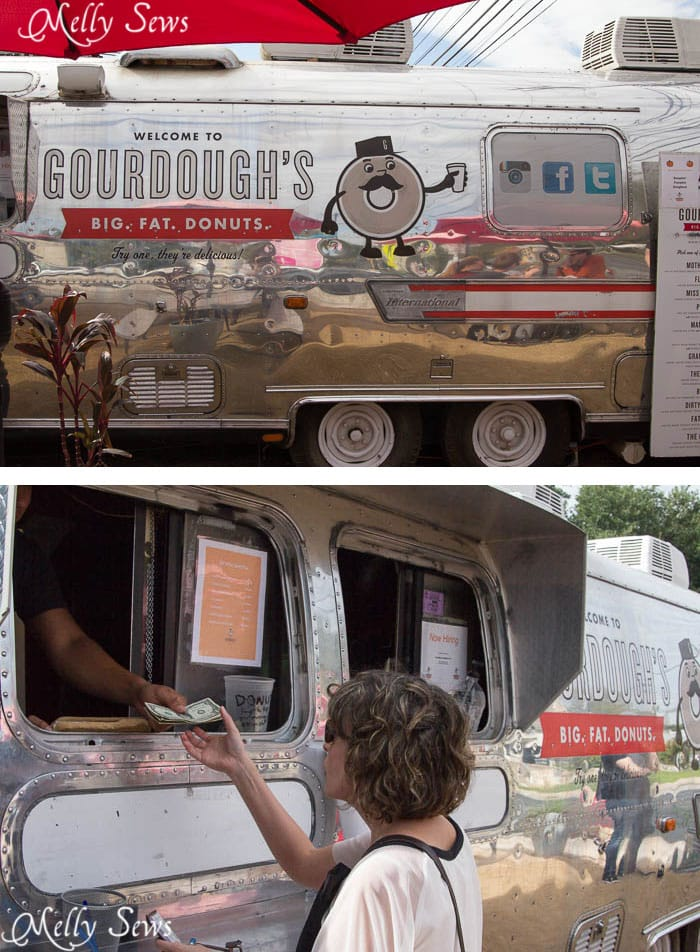 Gordough's Doughnuts - Austin Notebook - Melly Sews