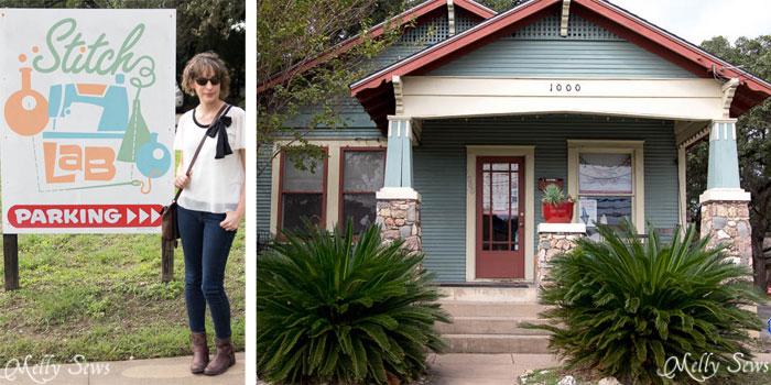 Stitch Lab, Fabric Shop in Austin, TX - Austin Notebook, Melly Sews