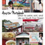 My Austin Notebook – South First Street