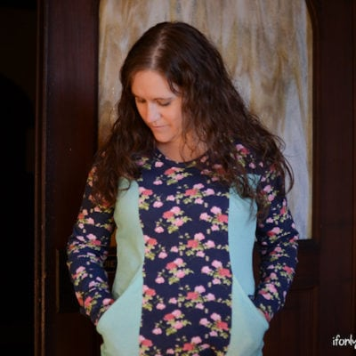 Denver Tunic with If Only They Would Nap – Blank Slate Sewing Team