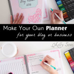 2016 DIY Planner – Blog Planner Free Printable Pages