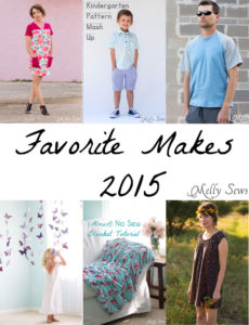 Melly Sews Favorite Makes of 2015