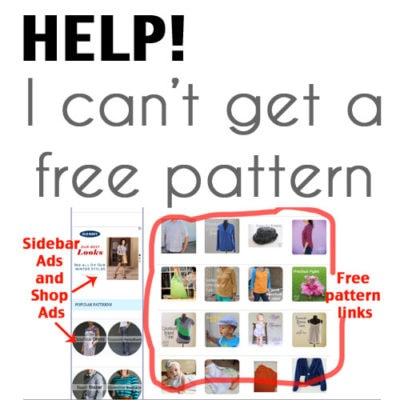Free Pattern Troubleshooting