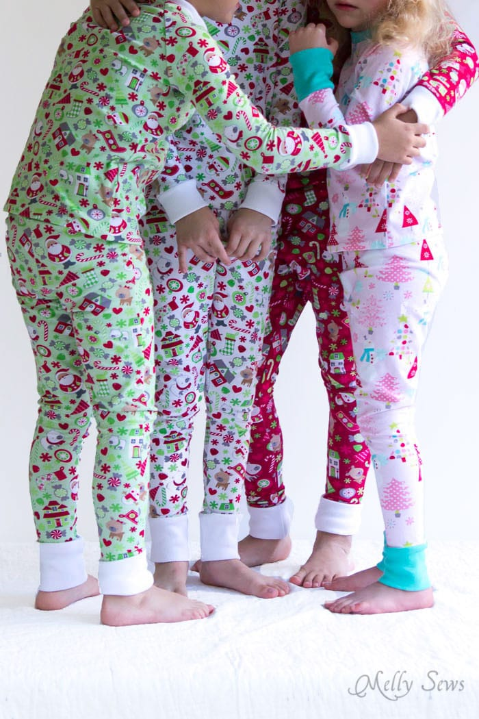 Diy Christmas Pajamas Sew Pajamas With This Free Pattern