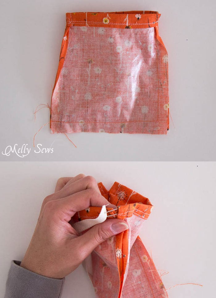 Step 2 - Great gift! Make homemade lotion bars and cute drawstring bags to store them in! - Melly Sews