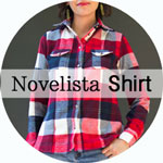 Novelista Shirt sewing pattern by Blank Slate Patterns