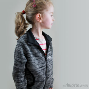 Zippy Jacket by Blank Slate Patterns sewn by The Inspired Wren - Melly Sews