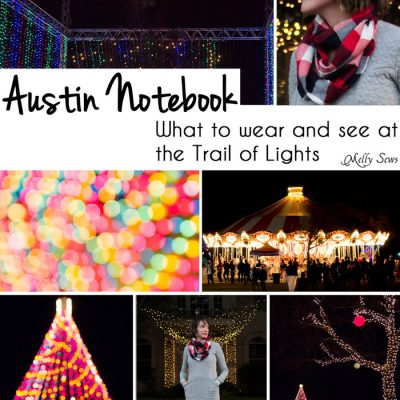 Austin Notebook – The Trail of Lights