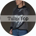 Tulip Top sewing pattern by Blank Slate patterns