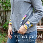 Zinnia Jacket by A Happy Stitch – Blank Slate Sewing Team