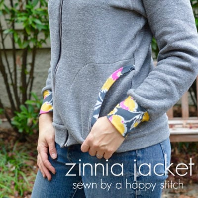 Zinnia Jacket by A Happy Stitch – Blank Slate Sewing Team