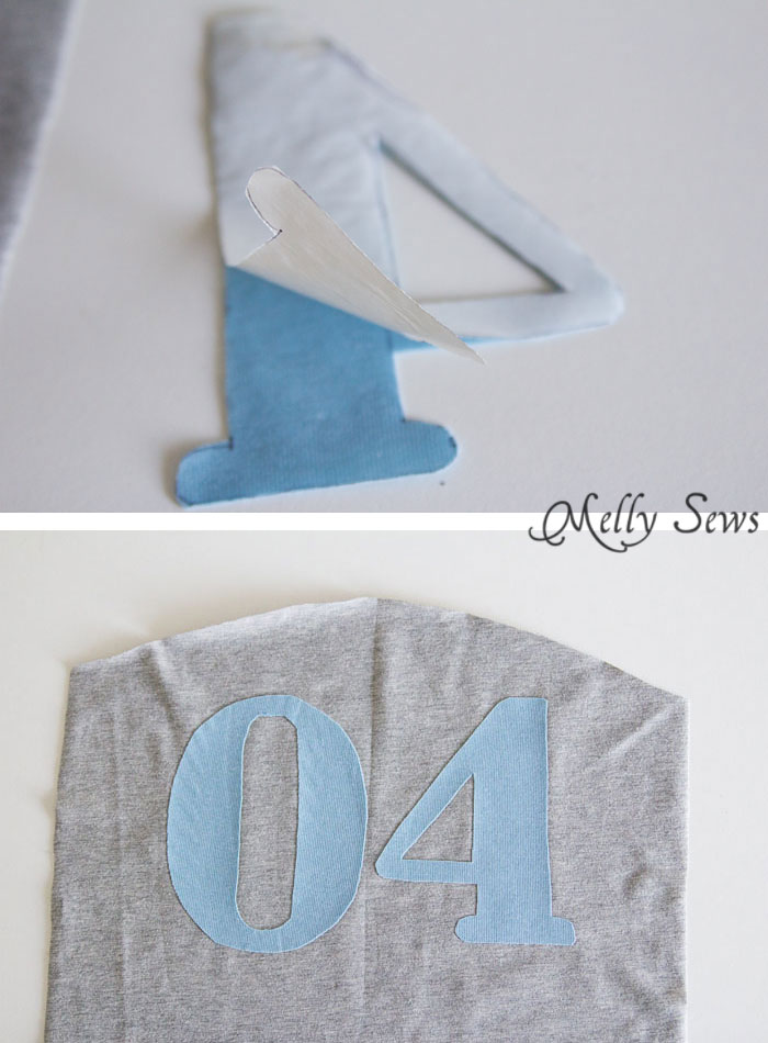 Step 2 - How to Appliqué - Sewing Glossary - Common Sewing Terms defined - Melly Sews
