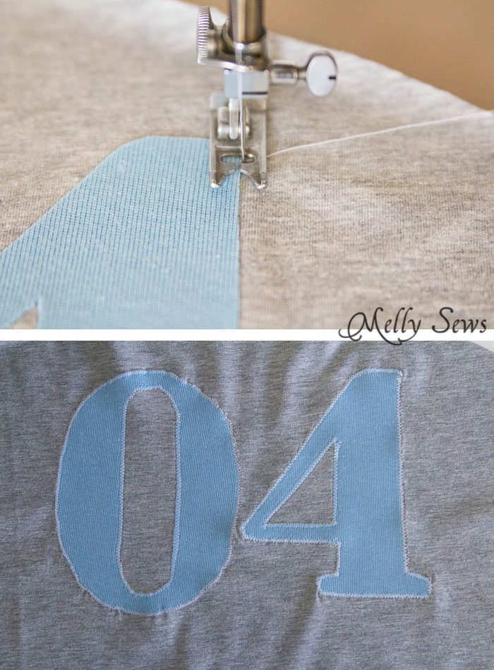 Step 3 - How to Appliqué - Sewing Glossary - Common Sewing Terms defined - Melly Sews