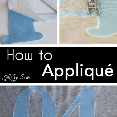How to Appliqué – Sewing Glossary