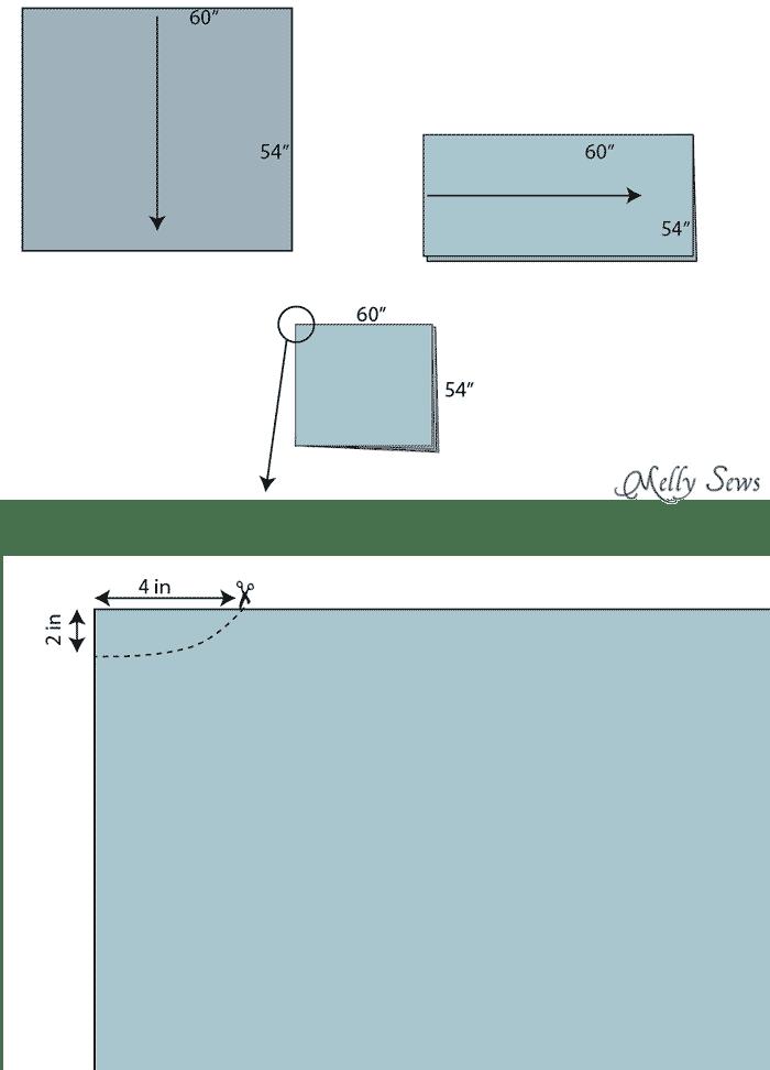 How To Sew A Fleece Poncho Diy Poncho Tutorial Melly Sews