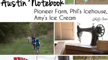 Austin Notebook – Pioneer Farms and Phil's Icehouse