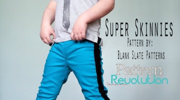 Super Skinny Pants with Pattern Revolution – Blank Slate Sewing Team