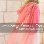 Easy Princess Cape Tutorial