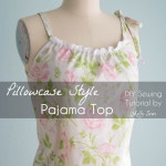 Sew a Pillowcase Top – Vintage Sheets Pajama Top