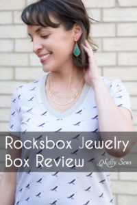 Rocksbox Review - DIY Style - Handmade clothing + Rocksbox jewelry - Melly Sews