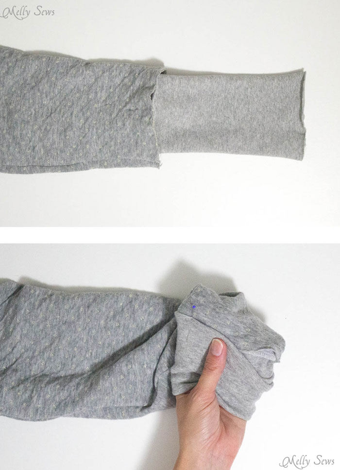 Step 4 - How to sew a reversible hoody - DIY tutorial by Melly Sews - Zinnia Jacket sewing pattern by Blank Slate Patterns