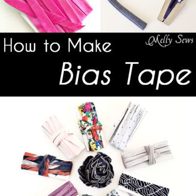 How to Make Bias Tape – Video and Tutorial to Sew Continuous Bias Tape