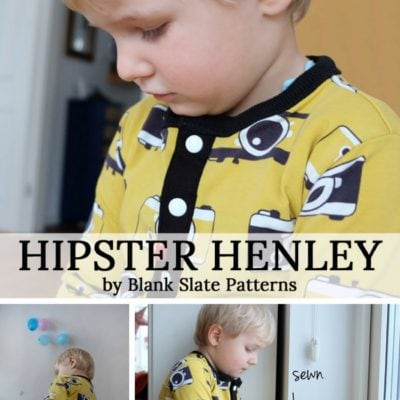 Hipster Henley with Nah Connection – Blank Slate Sewing Team