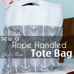 Rope Handles on a Tote Bag