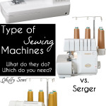 Sewing Machine vs Serger vs Coverstitch – What's the Difference?