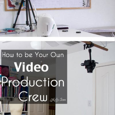 Tech Tips – My Video Setup and DIY Ceiling Camera Mount