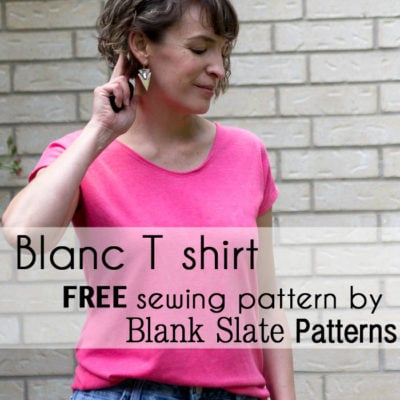 Introducing Blanc – Free Women's T Shirt Pattern!