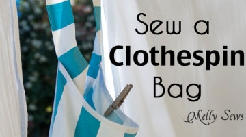 Sew a Clothespin Bag