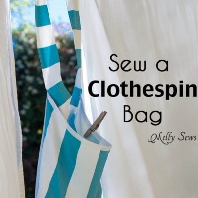 Sew a Clothespin Bag