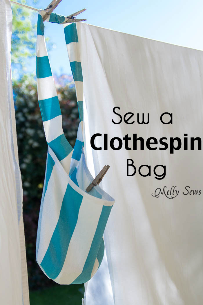 Sew A Clothespin Bag Melly Sews Impressive Clothespin Bag Pattern