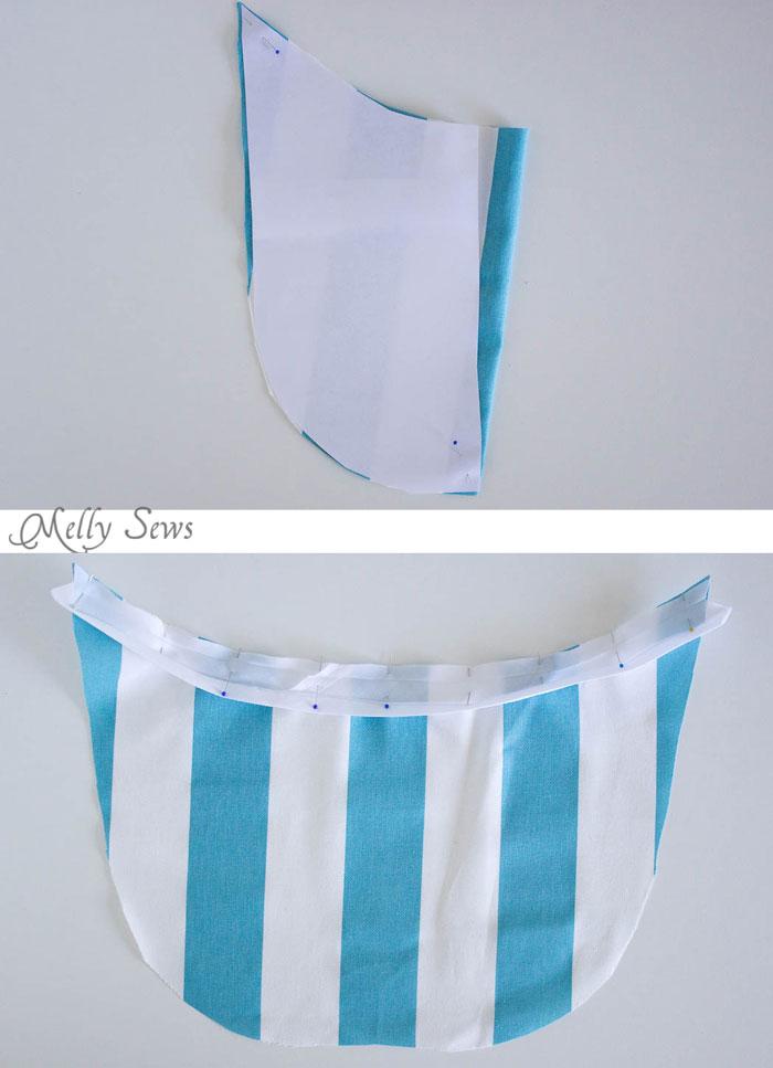 Step 1 - Sew a Clothespin Bag - Great way to keep clothespins close at hand - Melly Sews