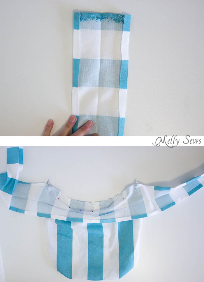 Step 3 - Sew a Clothespin Bag - Great way to keep clothespins close at hand - Melly Sews