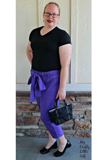 Forsythe Trousers Sewing Pattern by Blank Slate Patterns - Women's Pants and Capri Sewing Pattern
